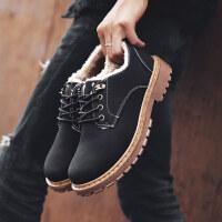 秋季男靴子百搭马丁鞋男士马丁靴男工装短靴英伦风冬季棉鞋