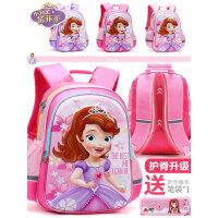 迪士尼小学生女童书包儿童背包51-3-6年级6-12岁冰雪奇缘女孩书包
