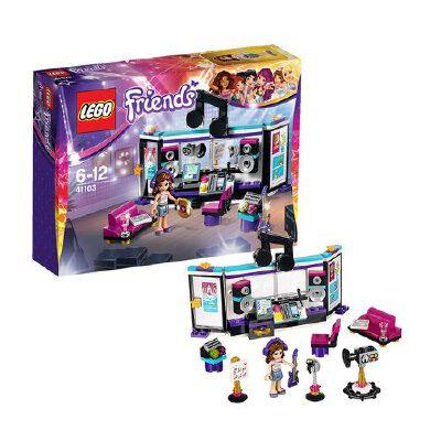 [当当自营]LEGO 乐高 Friends女孩系列 大歌星音乐录音棚 积木拼插儿童益智玩具 41103【当当自营】适合6-12岁,172pcs小颗粒积木