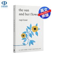 现货英文原版 太阳和她的花儿 Sun and Her Flowers 露比考尔 Rupi Kaur 自传体诗集诗歌 牛奶