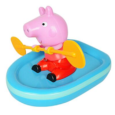 小猪佩奇的回力皮划艇