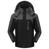 冲锋衣男女冬季加厚加绒保暖户外防风防水外套大码冲锋衣