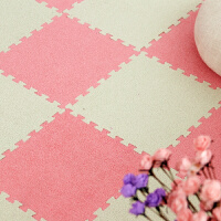???拼接地毯泡沫地垫婴儿童榻榻米家用绒面游戏毯加厚防滑卧室爬爬垫