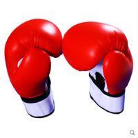 搏击手套专业散打青年手套成人专业拳击手套儿童训练加厚拳击手套