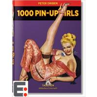 1000幅美国复古海报女郎绘画 1000 Pin-Up Girls 大师手绘 画册绘画图画本 画册本 手绘 画册印刷
