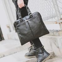 韩版公文包商务包手提包斜挎包单肩包 斜跨包 男包包 男士休闲包