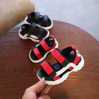夏季新款婴儿凉鞋女童宝宝软底防滑学步鞋男童露趾沙滩鞋