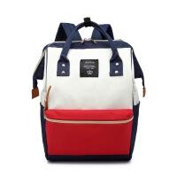 防水牛津布学生双肩包书包旅行背包大容量男女离家出走包