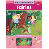 【预订】Fairies玩乐套装 精灵 英文原版儿童互动趣味读物