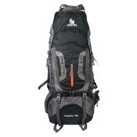 户外登山包双肩背包男80L防水大容量超轻野营徒步旅行双肩包女 76升以上