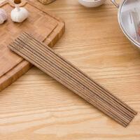 【满减】欧润哲 5双装加长火锅油炸防烫鸡翅木筷子 家用实木筷炸油条长筷子捞面筷