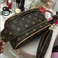 女化妆包韩国小号大容量化妆包手提防水收纳包便携随身旅行洗漱包