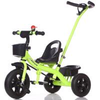 W 小孩三轮车3-6岁大号儿童脚踏车脚踩小车子幼儿小童自行车男孩红B31 绿色
