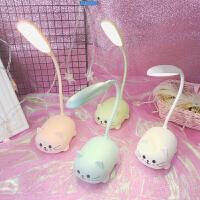 【限时7折】LED护眼台灯可爱卡通小猫咪儿童小学生写字阅读台灯桌面卧室看书