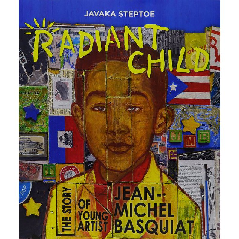 Radiant Child: The Story of Young Artist Jean-Michel Basquiat 发光的孩子:巴斯奎特的故事 2017年凯迪克金奖绘本 精装