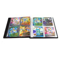 赛尔号神奇游戏王卡片收藏卡册百兽大战卡包机甲英雄卡牌套集 收藏册 颜色可备注不含牌可装160张