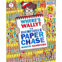 Where's Wally? The Incredible Paper Chase 威利在哪里:纸片游戏 ISBN97