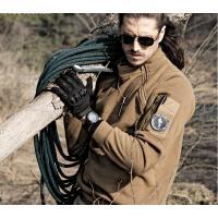 新款户外运动保暖打底 暴君战术抓绒衣男士保暖长冬季毛绒套头外套