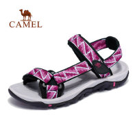 camel 骆驼户外沙滩鞋 女款徒步休闲透气耐磨舒适沙滩凉鞋