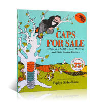 【发顺丰】英文进口原版 Caps for Sale卖帽子 小贩和猴子的恶作剧故事 美国Top 100百本必读 享誉75