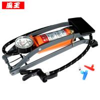 车用脚踏式充气泵车载脚踩打气泵折叠便携自行摩托汽车打气筒
