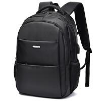 双肩包男士电脑包高中大学生书包休闲旅行防盗商务出差韩版潮背包