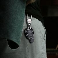 奔驰钥匙套c200l/glc260/C级cla/gla200/E级b200汽车金属钥匙包壳