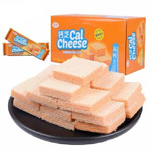 印尼进口 钙芝奶酪味高钙威化饼干 648g