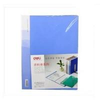 得力 5210 得力资料册/得力10页资料册/插袋文件夹 蓝色