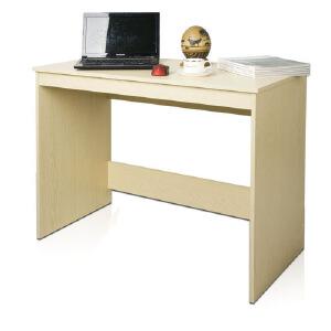 [当当自营]慧乐家 泊雅特电脑书桌11080 白枫木色 学习桌 办公桌 优品优质