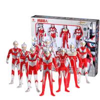 奥特曼男孩玩具4-12岁玩具可动模型 男孩礼物 迪迦奥特曼戴拿奥特曼 怪兽 奥特曼基地