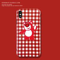 可爱卡通iPhone6plus手机壳苹果 max软壳xr全包防摔壳7/8潮女壳