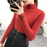 半高领毛衣女韩版秋冬打底衫新款加厚长袖修身套头针织衫上衣