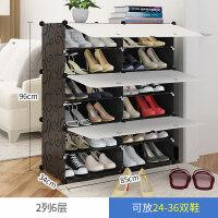 简易鞋柜经济型防尘多层组装家用省空间鞋架多功能简约现代门厅柜o2a