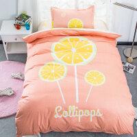 宿舍三件套学生单人床上用品纯棉1.2m米床男女上下铺床单被罩被套