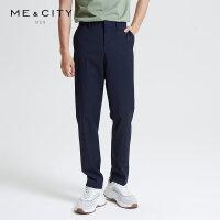 【1件2.5折到手价:106.3】MECITY男装春季新款商务直筒西装裤子韩版休闲长裤