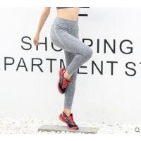 美腿裤子跑步健身长裤高腰瑜伽紧身裤高弹力压缩运动裤提臀收腿速干