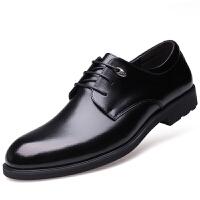 波图蕾斯当季新款男士商务休闲鞋英伦潮流系带正装休闲皮鞋