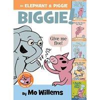 【现货】An Elephant & Piggie Biggie! 英文原版 小猪小象精装大开本故事套装(5个故事) 儿童