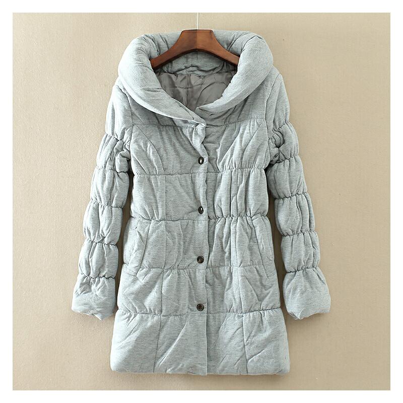 冬季柔软保暖显瘦纯色女士棉衣 中长款简约百搭加厚 C100 一般在付款后3-90天左右发货,具体发货时间请以与客服协商的时间为准
