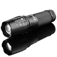 L2充电强光手电筒远射可使用26650电池调焦户外骑行装备防水