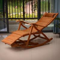 摇椅竹椅子成人折叠躺椅家用摇摇椅午睡凉椅老人午休实木逍遥靠椅