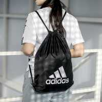 Adidas阿迪达斯抽绳双肩包男包女包初中高中学生书包背包潮运动包