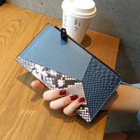 真皮钱包女长款薄韩版潮新款时尚个性多功能多卡位卡包大容量