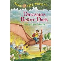 英文原版 神奇树屋1 Magic Tree House Dinosaurs Before Dark 恐龙谷历险记 冒险故