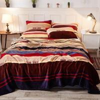 夏季珊瑚绒毛毯加厚法兰绒床单人薄款小毛巾夏凉被子空调午睡