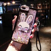 苹果x手机壳新款流沙液体流动iphone8女款6s套6sp硅胶i7网红7plus个性iPhonex创 苹果X-- 紫色