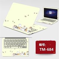 笔记本宏�AcerE5-422G E1-431G外壳保护贴膜免裁剪炫彩贴纸14寸