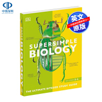 英文原版 DK系列 生物学 动植物 研究指南 SuperSimple Biology: The Ultimate Bit