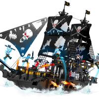 积木玩具 军事海盗船系列男孩组装 儿童塑料拼装 积高13119-彩盒